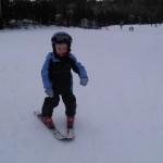 Pierwsze kroki na nartach